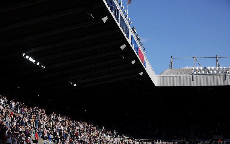 Image for Newcastle United: Fans blast picture inside St. James' Park on social media