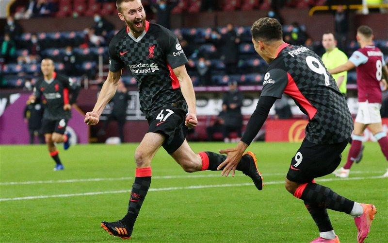 Image for Liverpool: Alan Shearer praises Nat Phillips