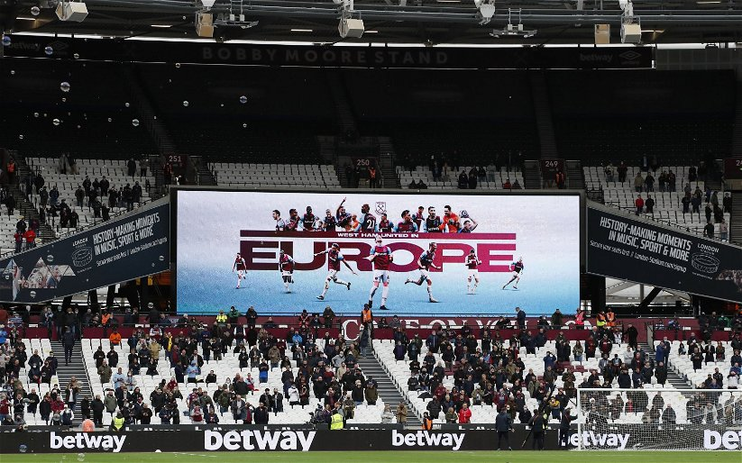 Image for West Ham United: ExWHUemployee discusses a potential release day for the Hammers' new kit