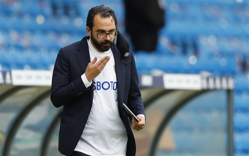 Image for Leeds United: Podcaster drops Victor Orta claim