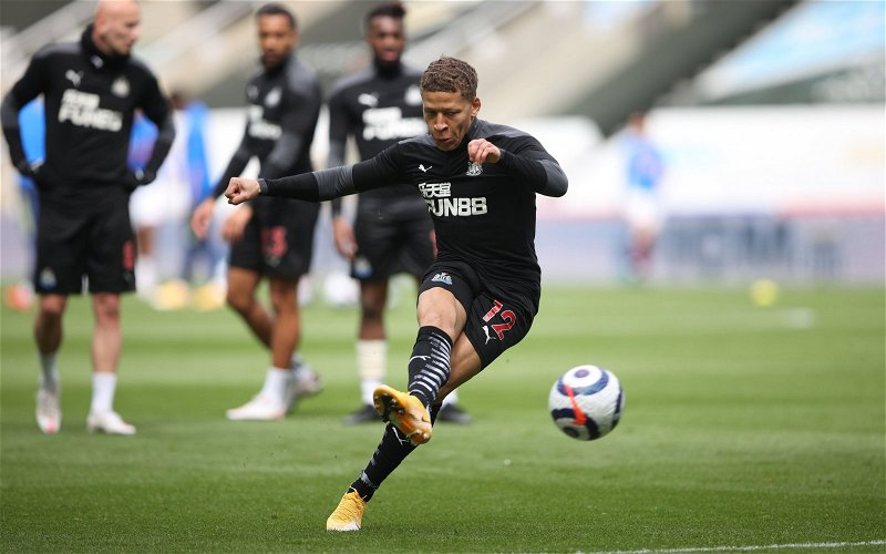 Image for Liam Kennedy blasts Newcastle after handing Dwight Gayle a new contract