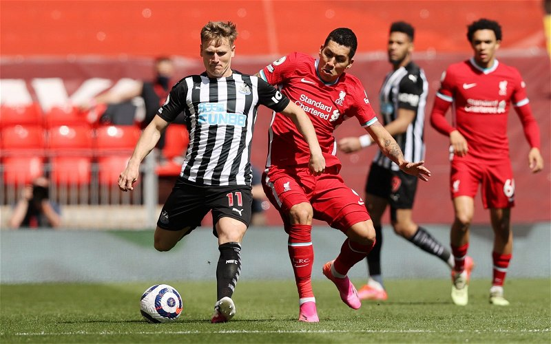 Image for Newcastle United: Chris Waugh worried about Bruce's comments on Ritchie