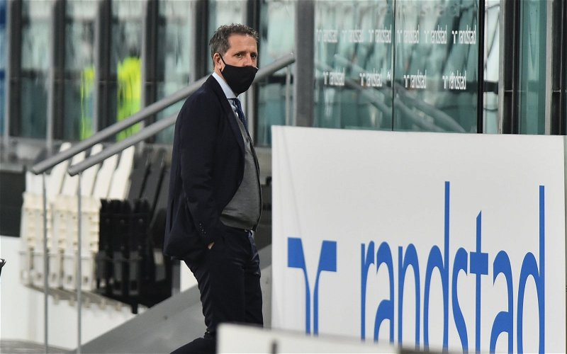 Image for Stewart: I hope the Tottenham board back Fabio Paratici