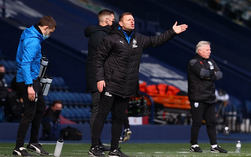 Image for Newcastle United: Fans react as Graeme Jones put in charge of training
