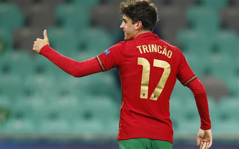 Image for Exclusive: Bull believes Trincao could replace Pedro Neto