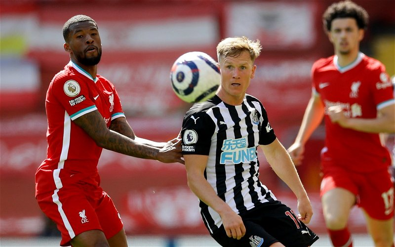 Image for Newcastle United: Fans react to Matt Ritchie's display against Rotherham United