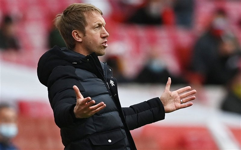 Image for Tottenham Hotspur: Many fans annoyed that Graham Potter never wanted the managerial job