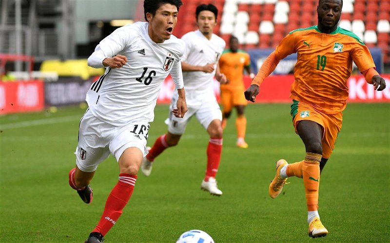 Image for Exclusive: Graham Roberts confident will complete deal to sign Takehiro Tomiyasu