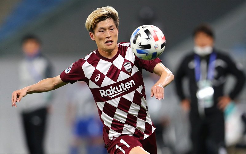 Image for Celtic: Fans flock to Kyogo Furuhashi's one-word update ahead of FK Jablonec clash