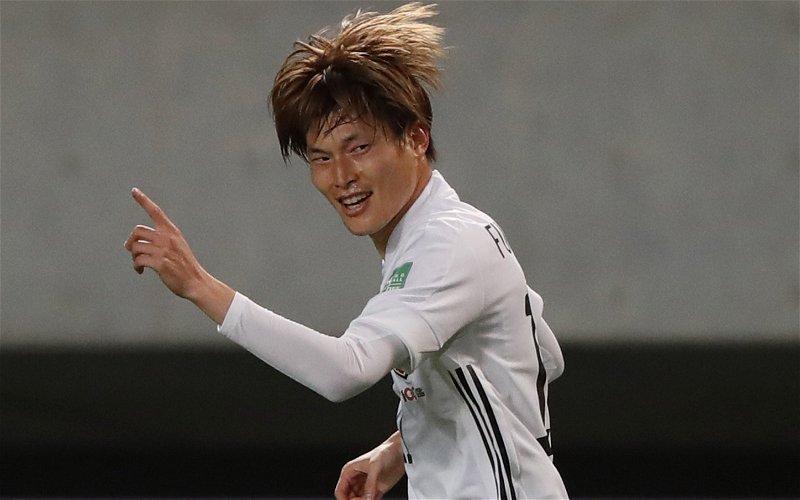 Image for Celtic: Journalist drops revelation about Kyogo Furuhashi