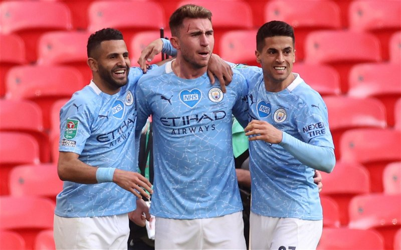 Image for Exclusive: Steve Howey backs Aymeric Laporte's decision to seek Man City exit