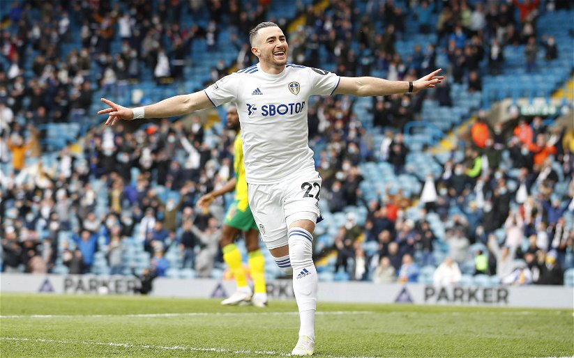 Image for Exclusive: David Norris says Jack Harrison deal was great piece of business for Leeds