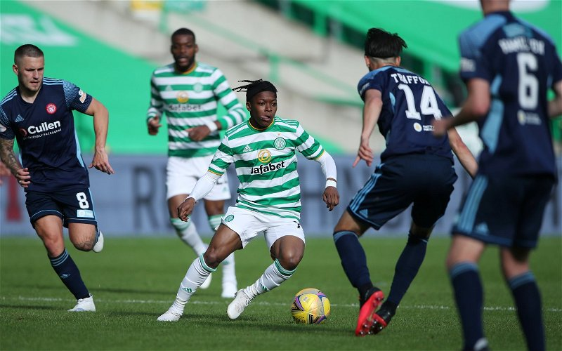 Image for Reporter backs Dembele to impress despite end of Celtic contract nearing