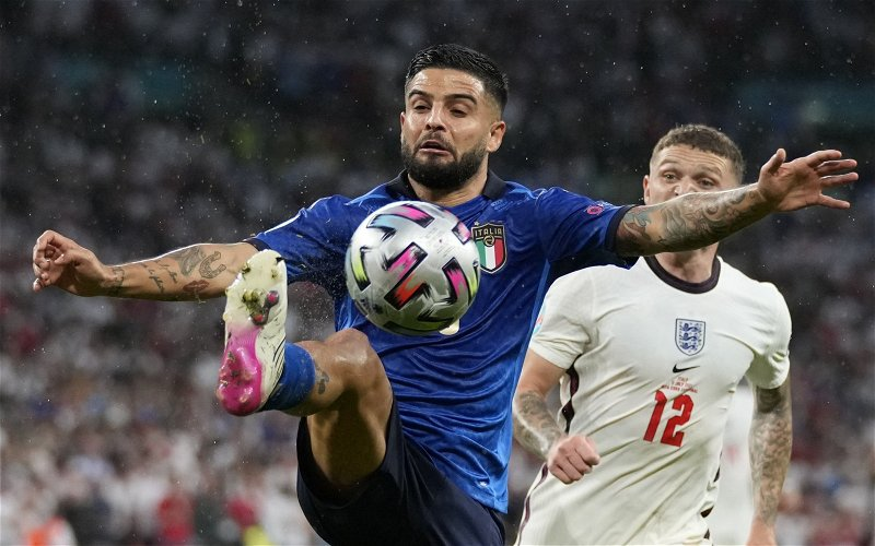 Image for Hatfield: Lorenzo Insigne would be a statement signing by Wolves
