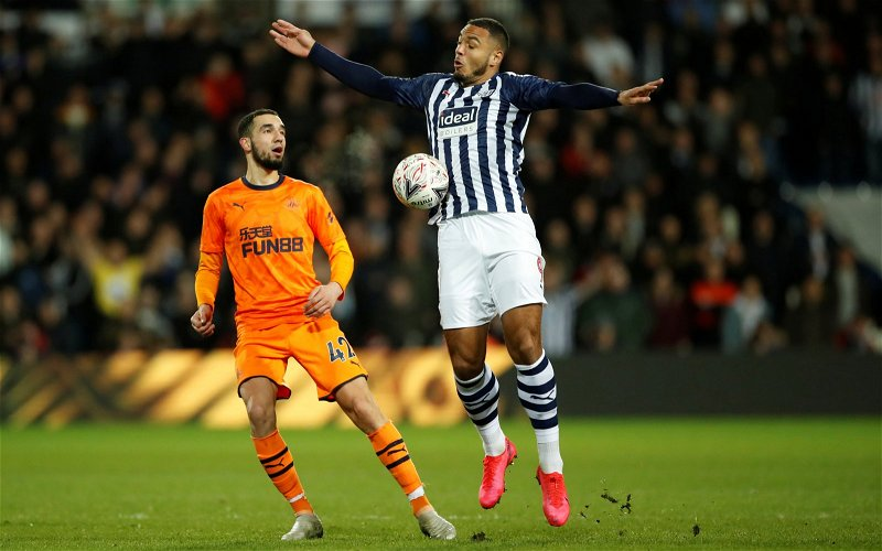 Image for Journalist says Kenneth Zohore leaving West Brom could suit all parties