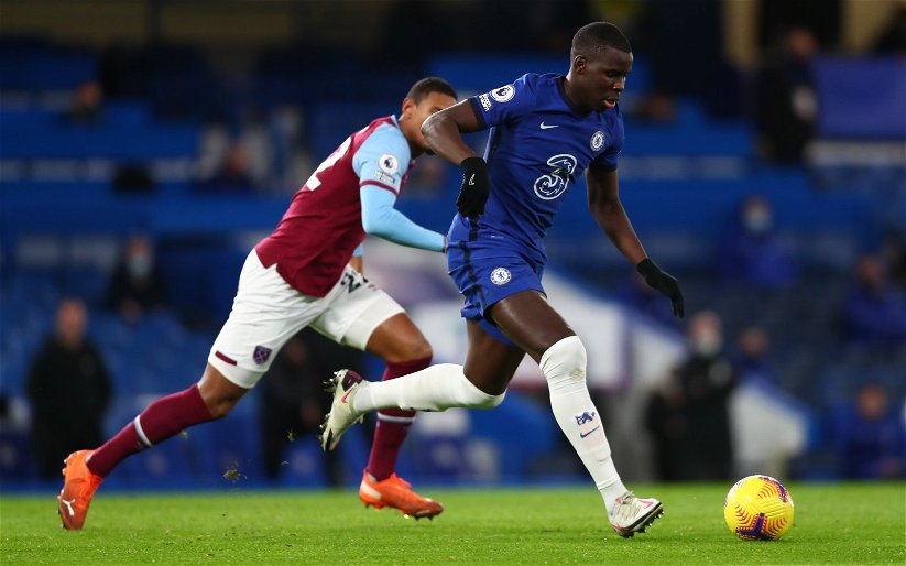 Image for West Ham United: Dougie Critchley claims Kurt Zouma could play in a three