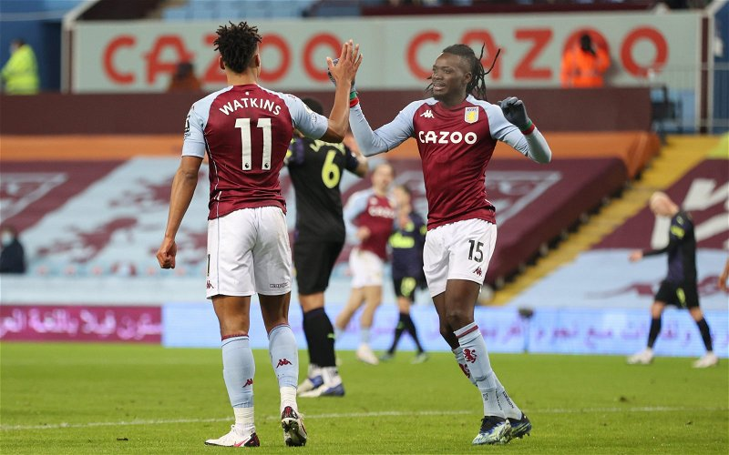 Image for Aston Villa journalist can see Bertrand Traore providing cover for Ollie Watkins