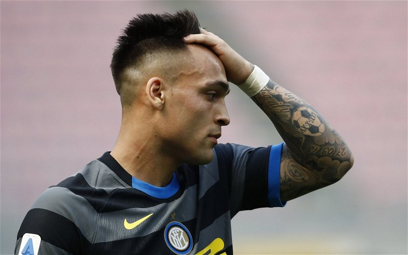 Image for Exclusive: Pundit says Tottenham can't afford Lautaro Martinez if Harry Kane stays