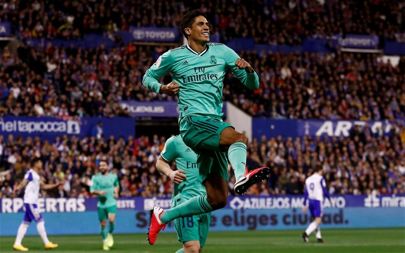 Image for Exclusive: Pundit not surprised Raphael Varane only wanted Manchester United