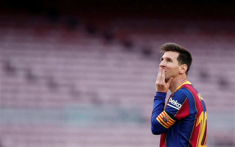 Image for Exclusive: Michael Ball says Manchester City missed big chance to sign Lionel Messi