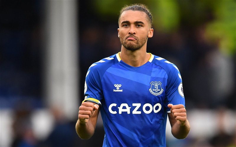Image for Exclusive: Marcus Bent expects Dominic Calvert-Lewin to remain at Everton