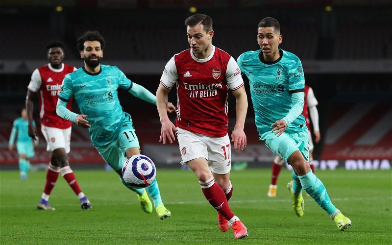 Image for Arsenal: James McNicholas calls the club's right-back situation 'absurd'
