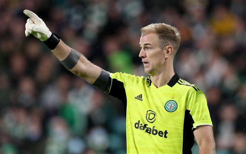 Image for Celtic: Many fans slam Joe Hart following error