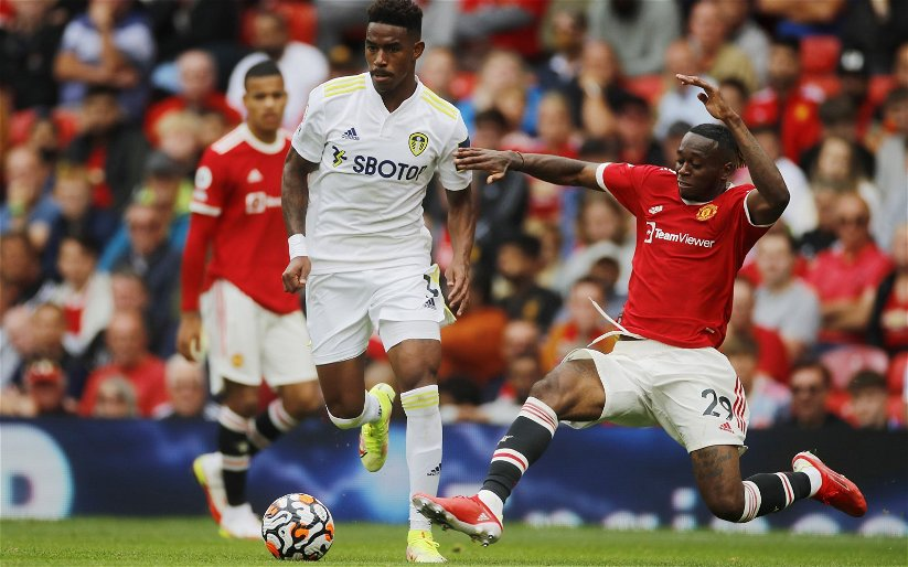 Image for Leeds United: Conor McGilligan claims Junior Firpo doesn't overlap often enough