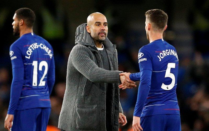 "Image for Exclusive: Pundit labels Jorginho a ""Pep player"" after Manchester City comments"