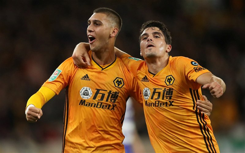 Image for Wolves: Presenter excited to see Jordao