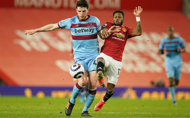 Image for Exclusive: Pundit thinks West Ham can rest easy after Declan Rice development