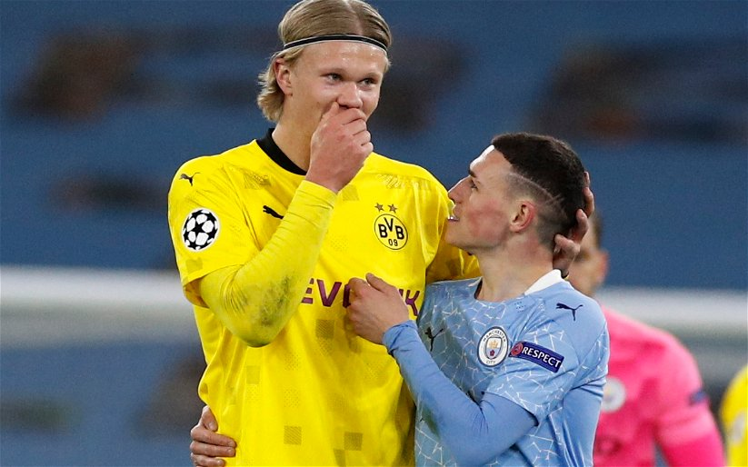 Image for Exclusive: Michael Ball expects Manchester City to move for Erling Haaland