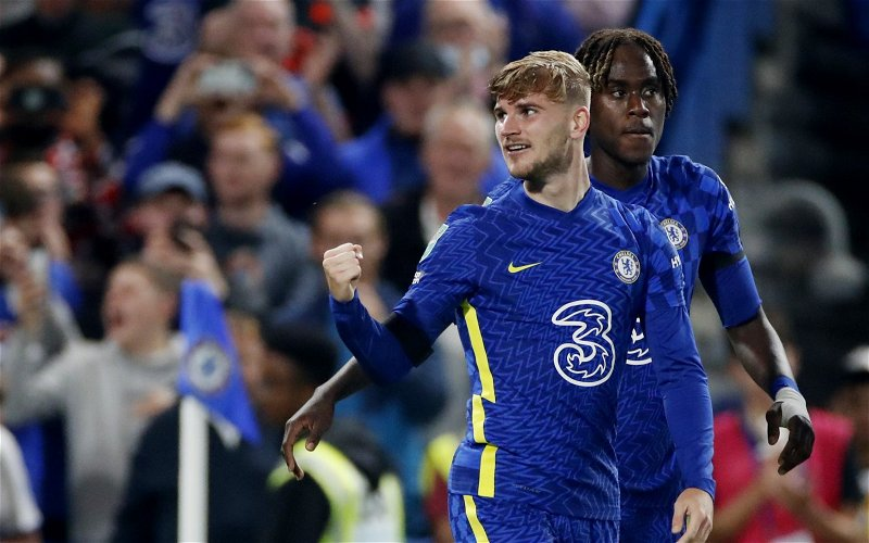 Image for Exclusive: Palmer believes Werner will get game time at Chelsea