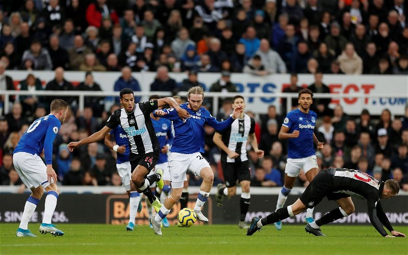 Image for Exclusive: Pundit thinks Everton's Tom Davies would've got more minutes at Newcastle