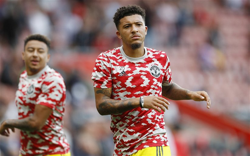 Image for Exclusive: Pundit backs Sancho to come good at Manchester United amid criticism