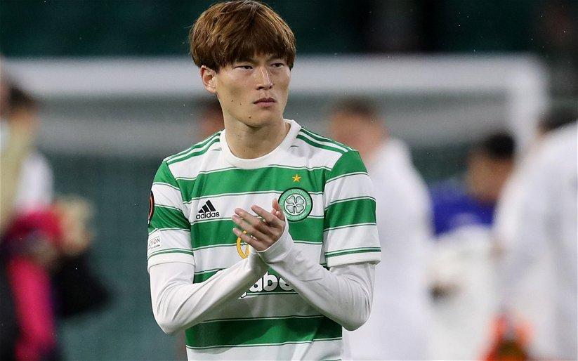 Image for Celtic fans hail Kyogo Furuhasi after Aberdeen goal