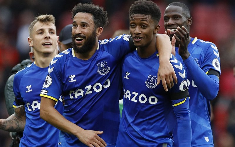 Image for Exclusive: Michael Ball feels Demarai Gray is what Everton have lacked