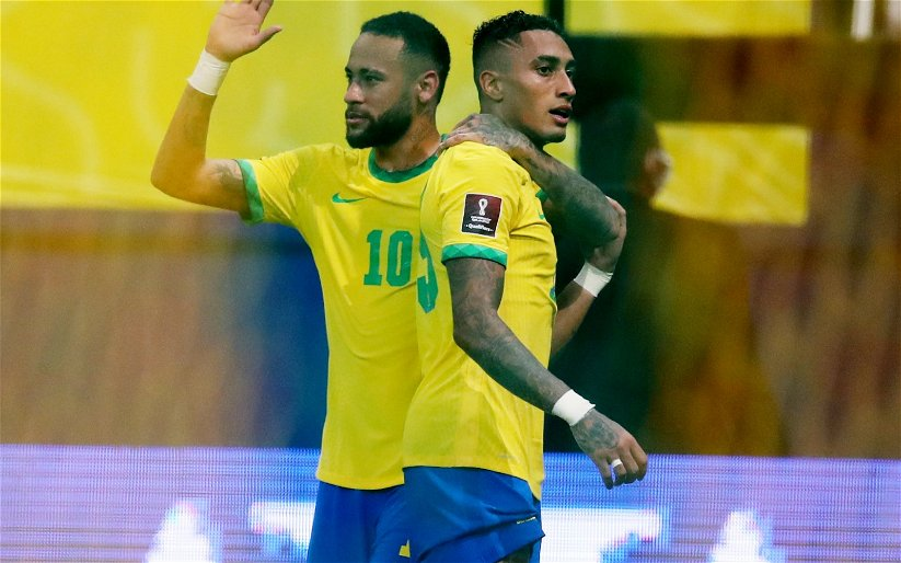 Image for Leeds United: Fans buzz as Raphinha scores for Brazil