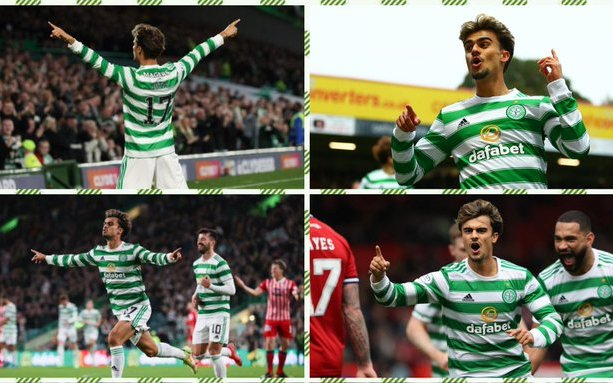 Image for Celtic: Many fans delight in Jota assist footage