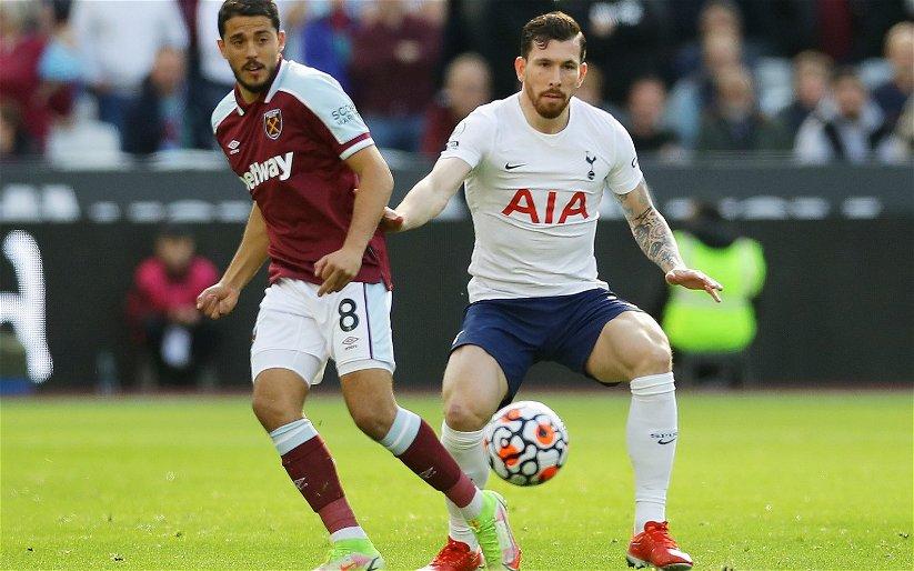 Image for Tottenham Hotspur: Fans slam Pierre-Emile Hojbjerg's performance against West Ham